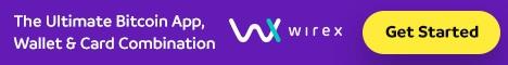 MONEDERO BITCOIN: Wirex, tiene programa de referidos. Va a ganar el 10% de las tasas brutas totales en sus referencias en el primer año, y el 5% a partir de entonces. Se puede pedir una Tarjeta VISA en Euros o $ (la tarjeta vale 12,95 $).