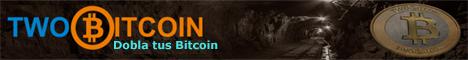 TwoBitcoin Dobla tus bitcoin. Gana bitcoin todos los días sin tener que referir a nadie. Si haces equipo pues mucho mejor porque tiene un excelente plan de compensación por tu red. Ganas el 5% de tu inversión todos los días en 40 pagos (Días laborables).